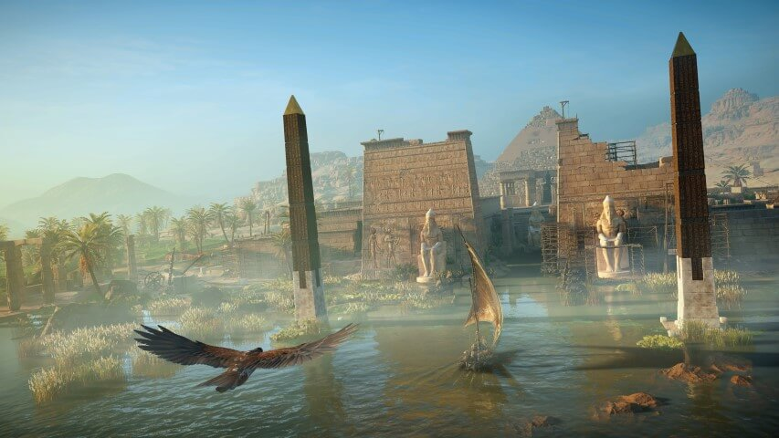 Assassin S Creed Origins Reveals More Screenshots And Concept Art