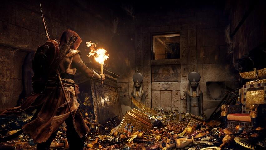 Assassin S Creed Origins Reveals More Screenshots And Concept Art