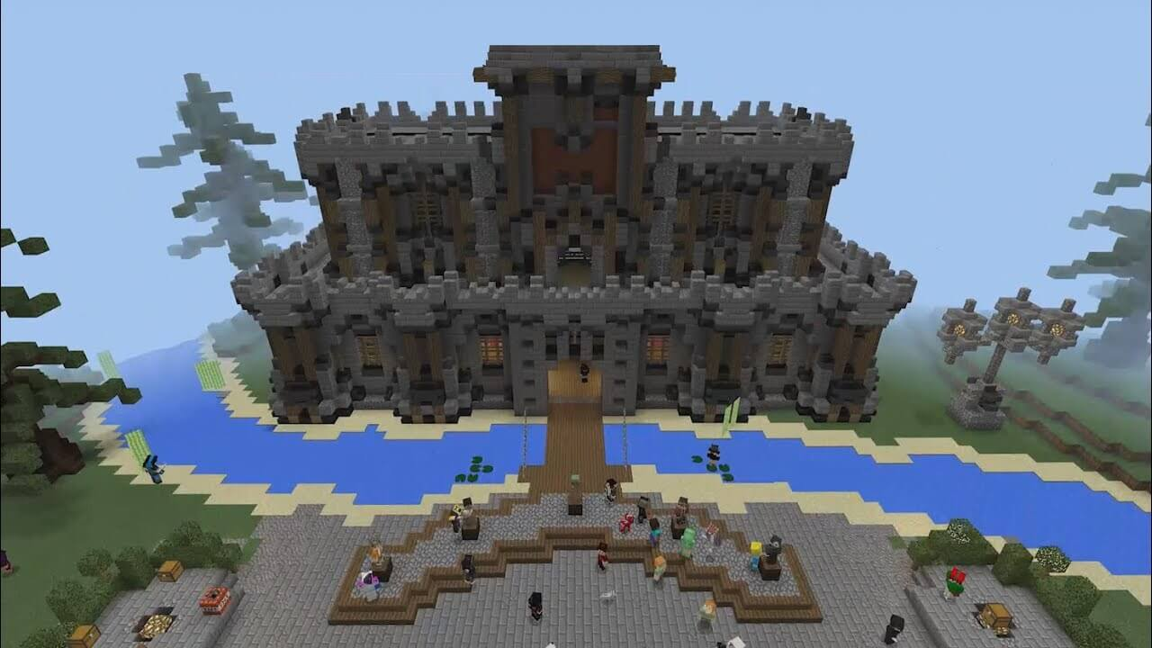 Minecraft Xbox  Building Stuff