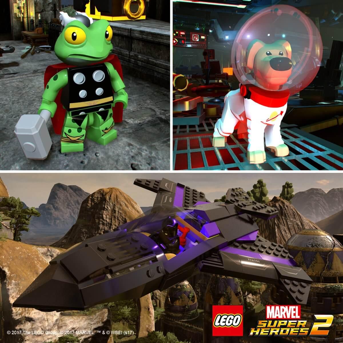 lego marvel super heroes 2 journey to chronopolis trailer
