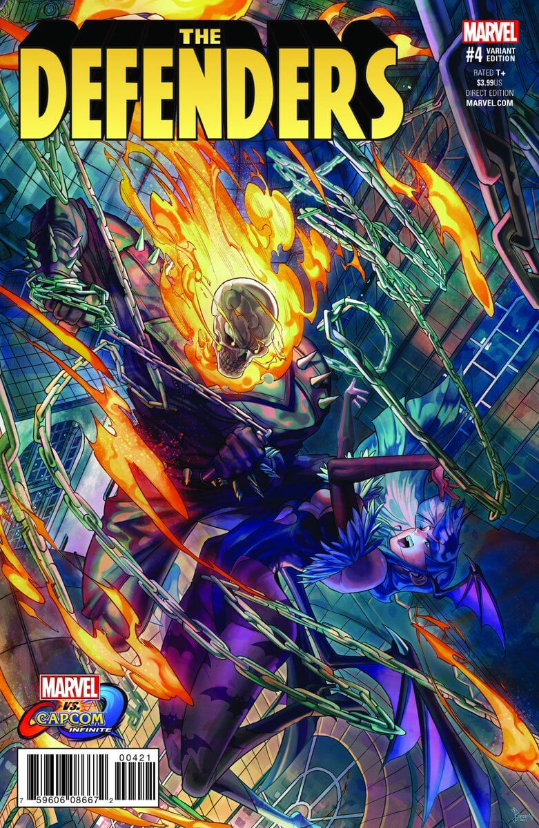 ghost rider announced for marvel vs. capcom: infinite