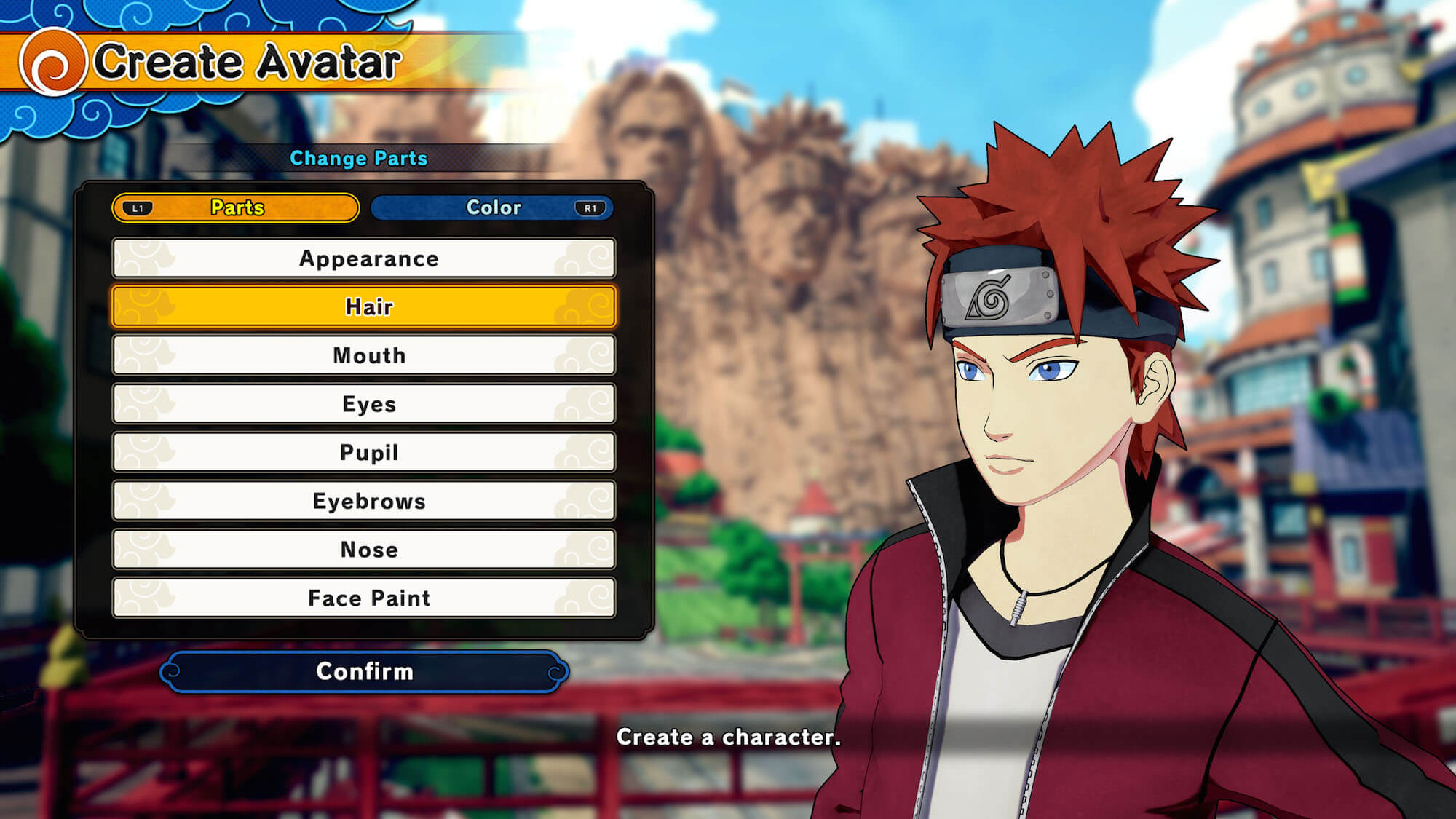 Create your own ninja in naruto to boruto shinobi striker for Create a program online