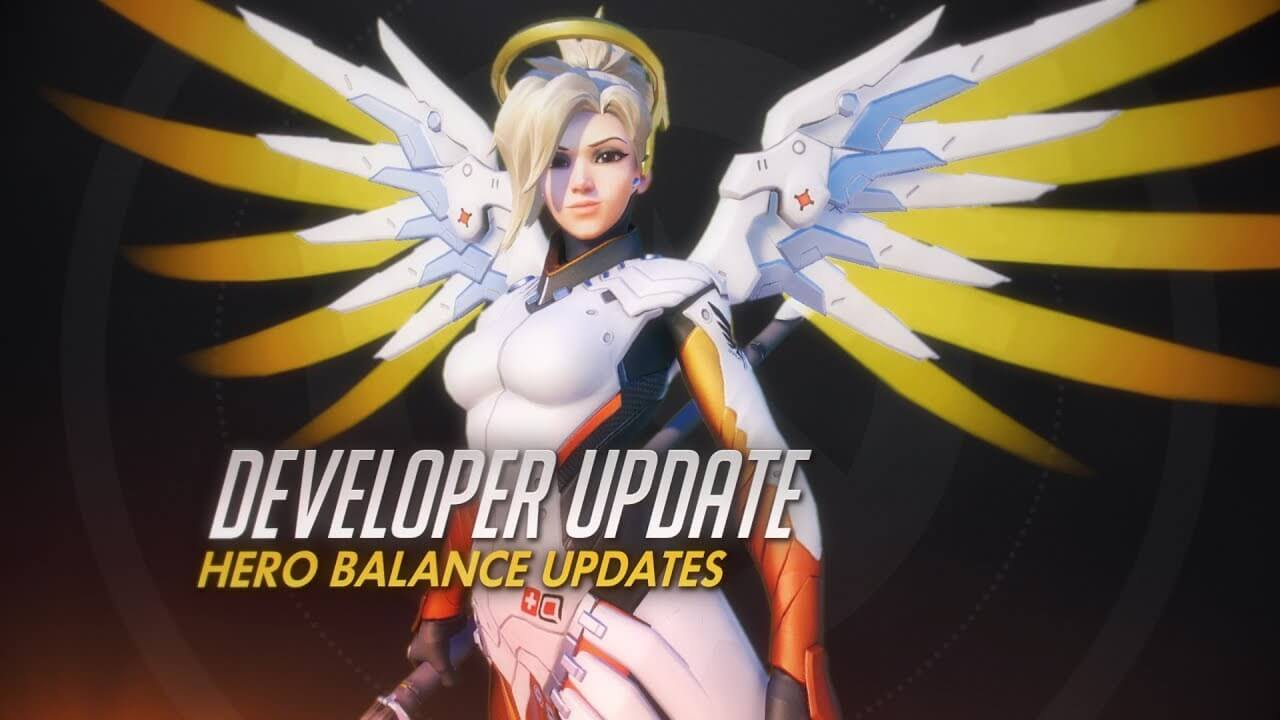Mercy's adjustments in this Overwatch PTR update are pretty huge!