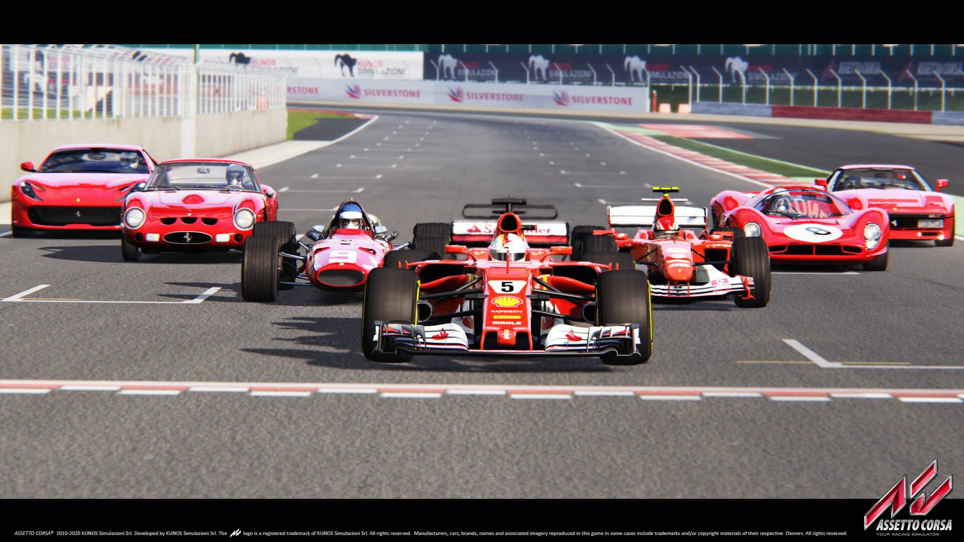 Latest Assetto Corsa Dlc Trailer Shows The Ferrari Sf70h