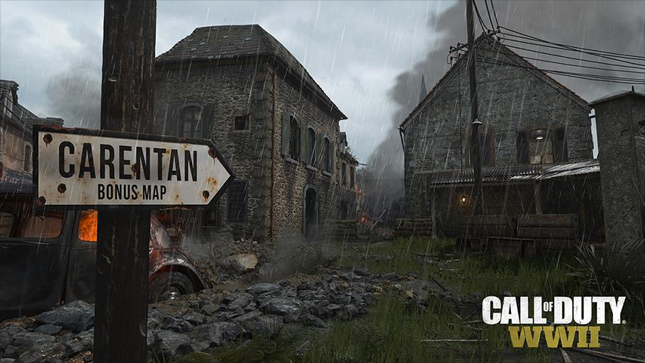 Classic carentan map included with call of duty wwii season pass gumiabroncs Gallery