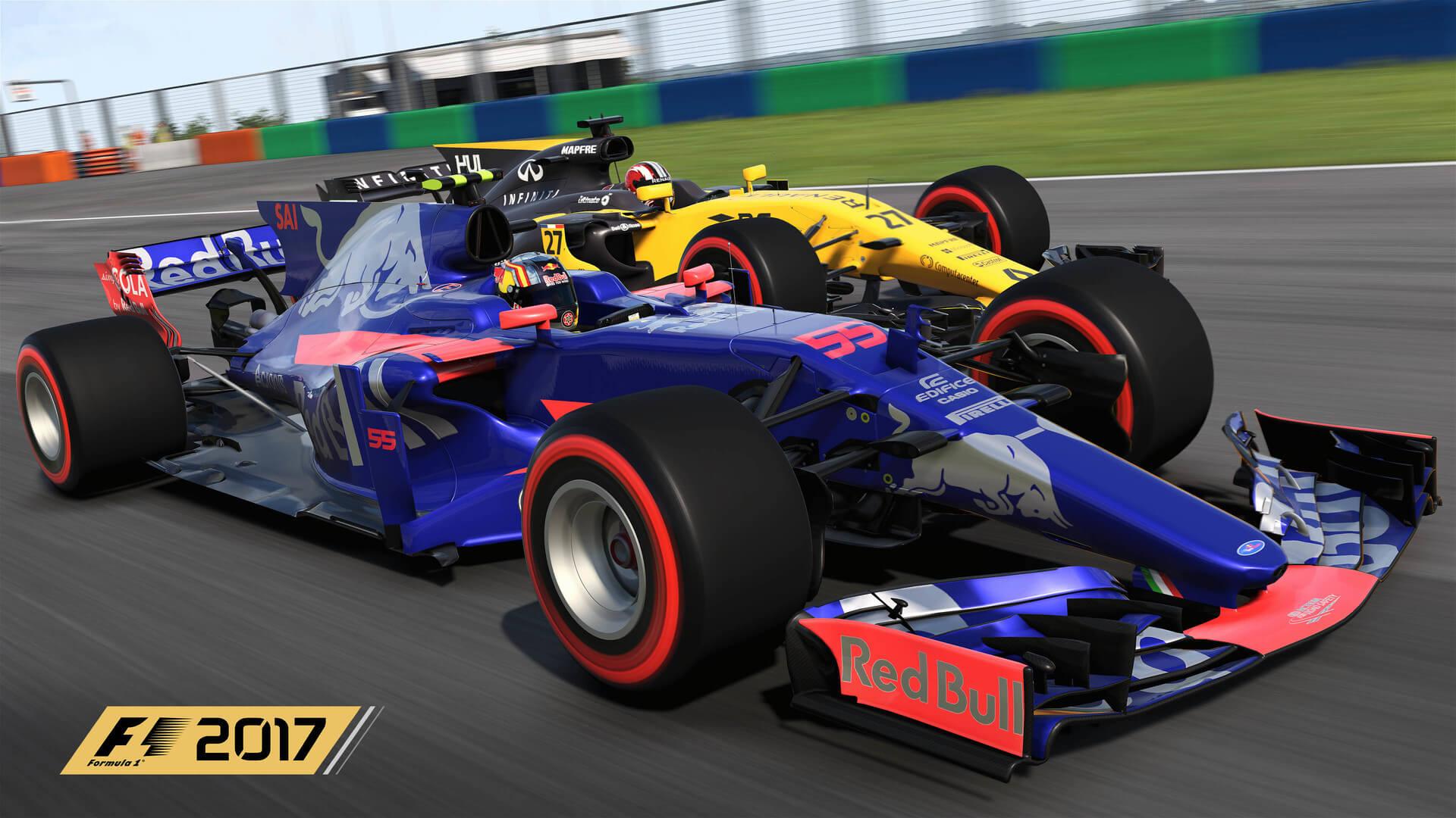 Espectaculares nuevas imágenes de F1 2017