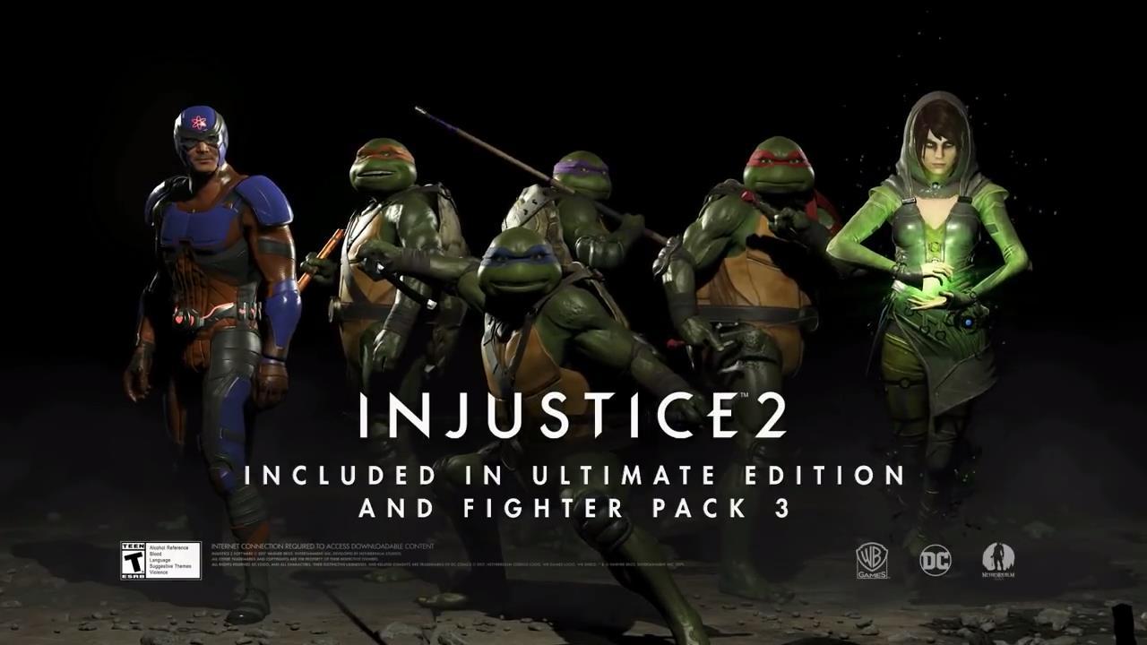 The Teenage Mutant Ninja Turtles The Atom And Enchantress Join
