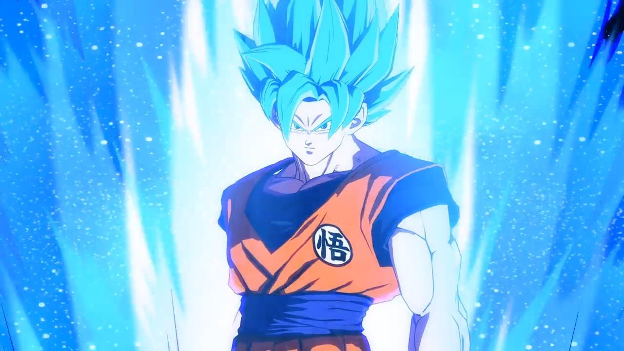 Resultado de imagem para Goku SSGSS dragon ball fighterz