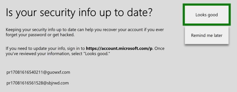microsoft account forgot password xbox