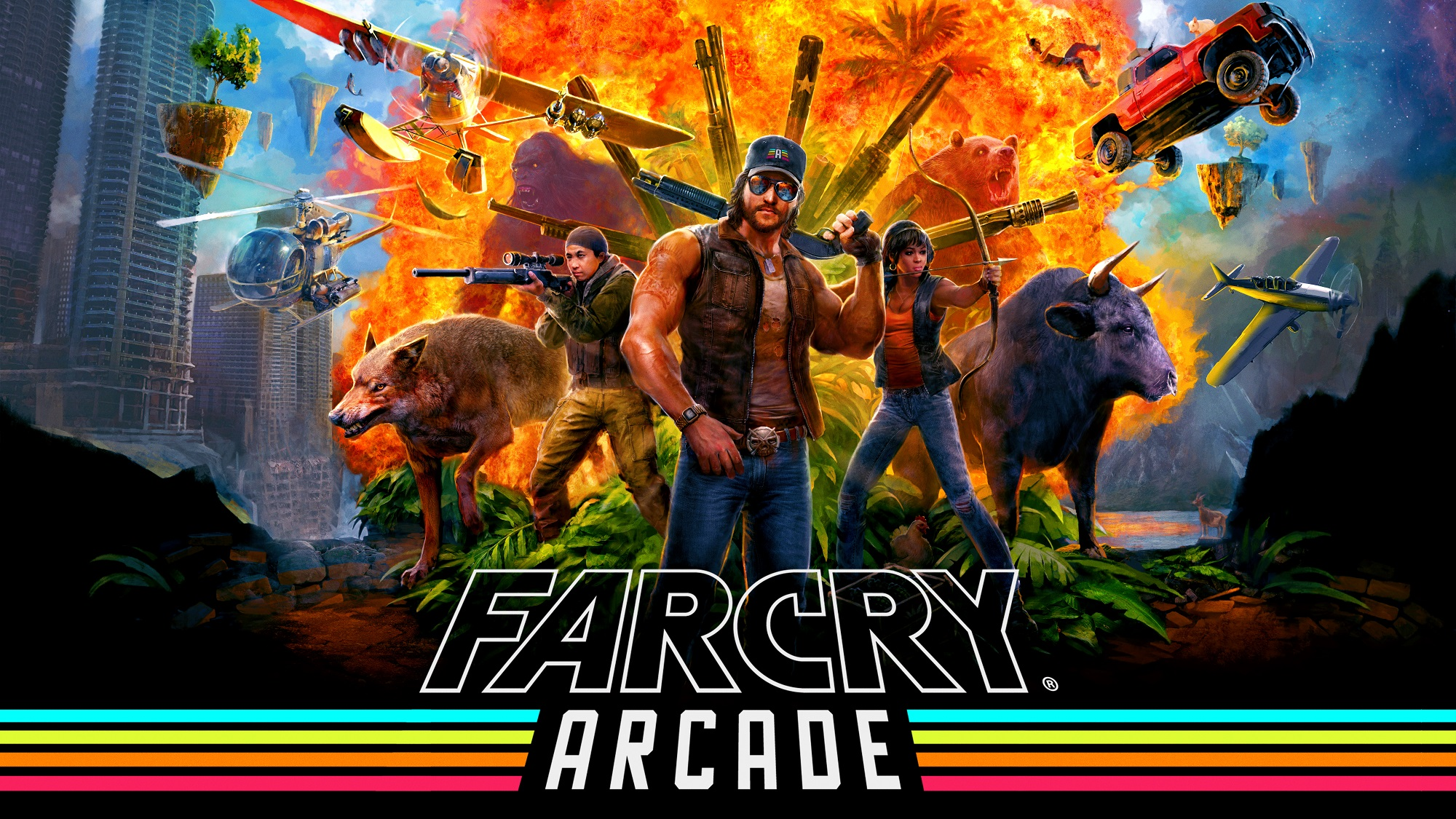 Far Cry 5 Details Far Cry Arcade