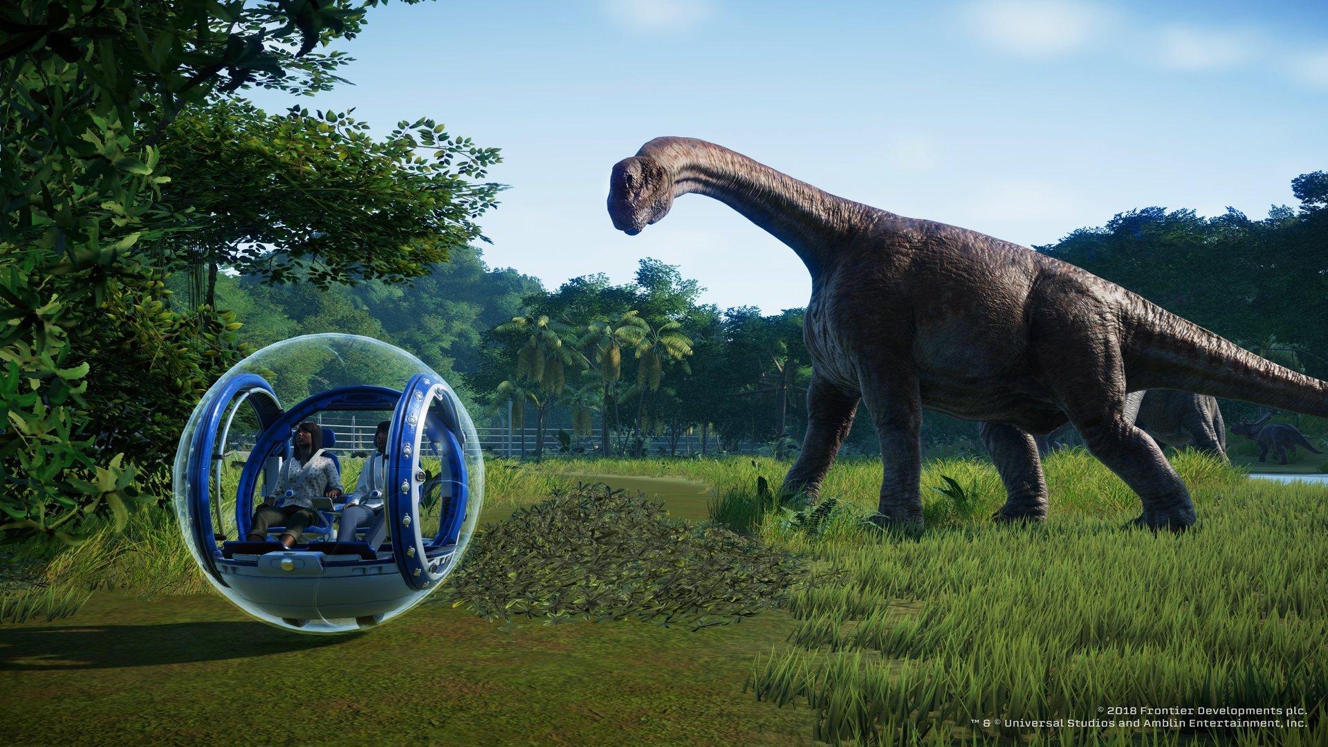 Jurassic World Evolution Screenshot