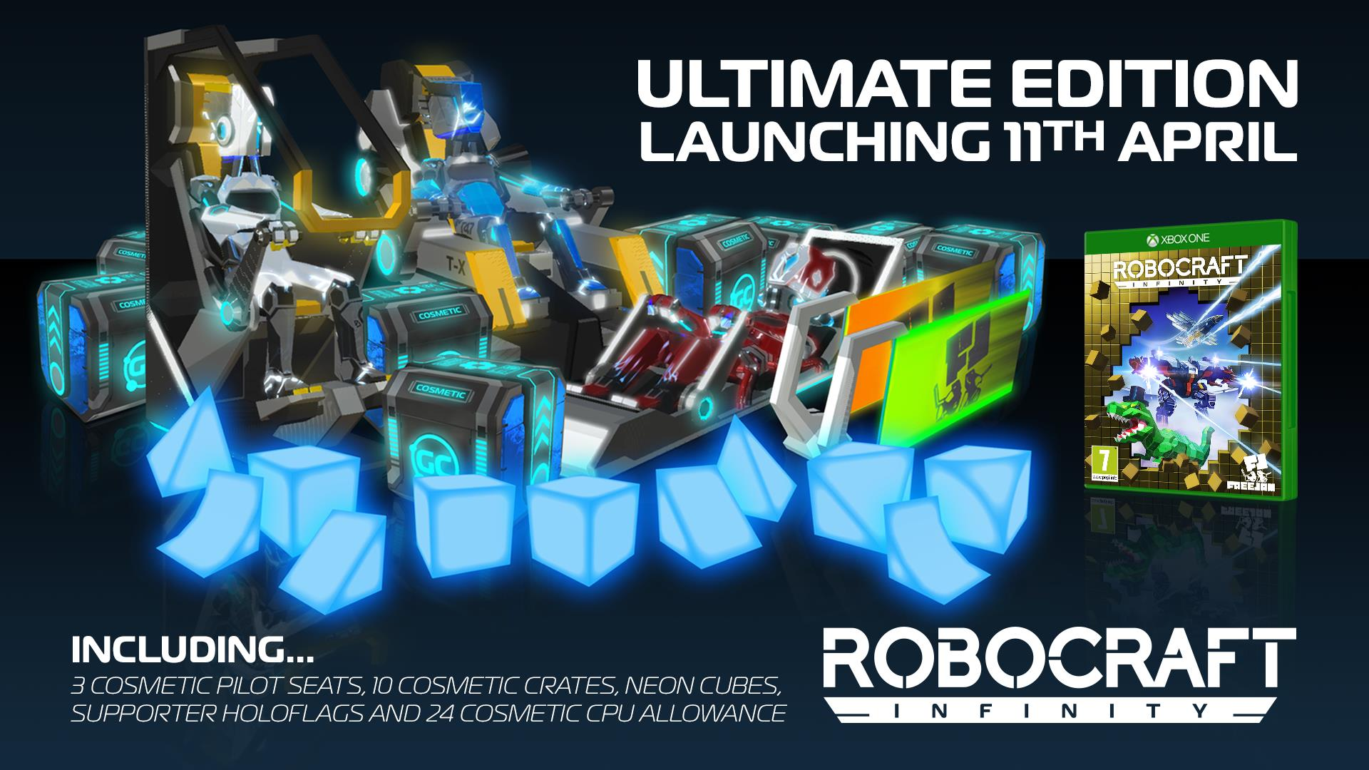 Robocraft Infinity Editions Details and Trailer Released