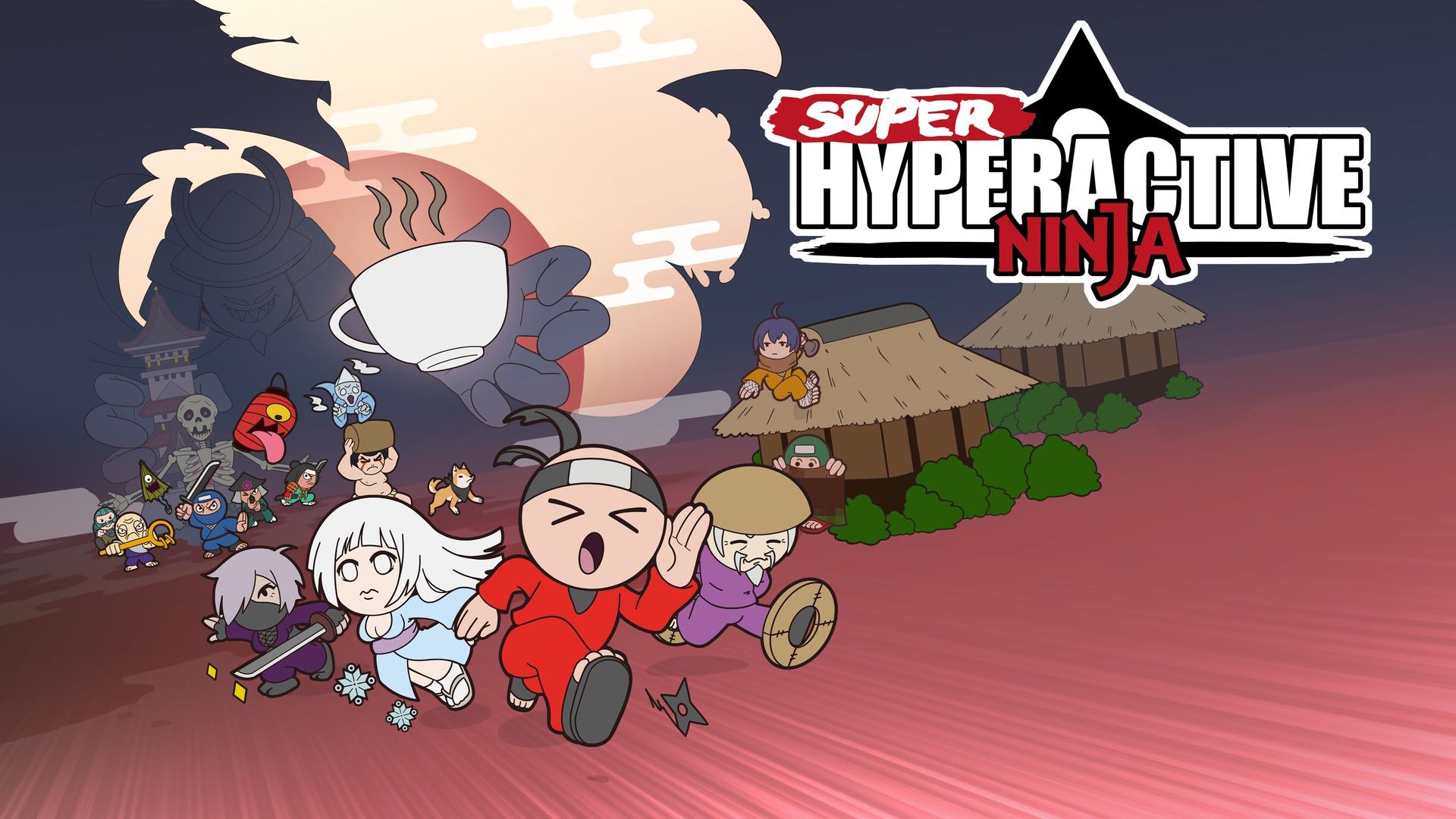 Super Hyperactive Ninja Game