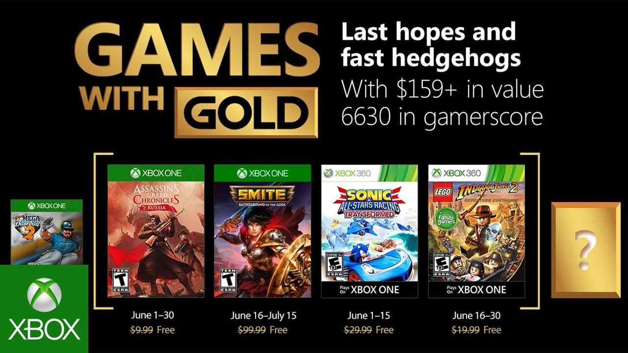 Afbeeldingsresultaat voor games with gold june 2018