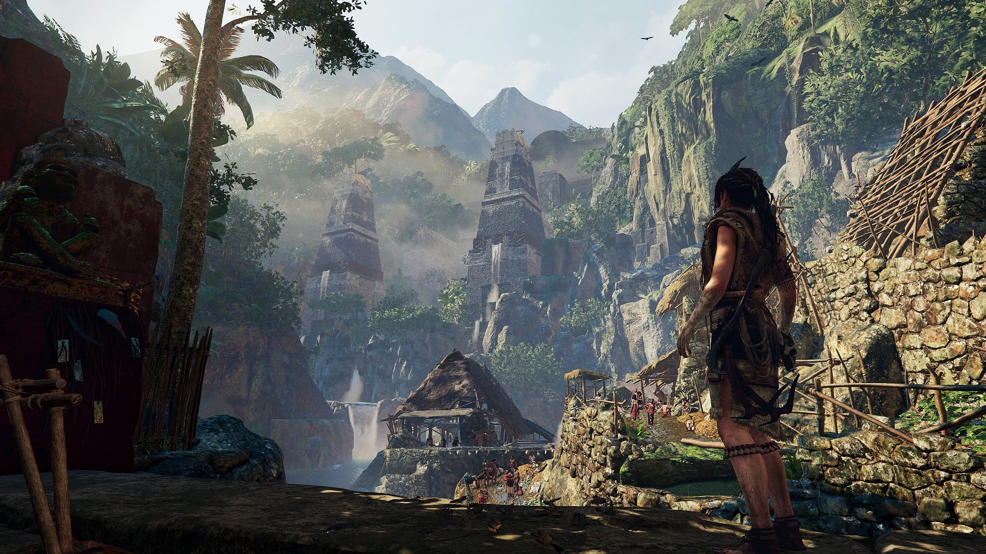 Shadow Of The Tomb Raider S E3 Gameplay Trailer Focuses On The Jungle