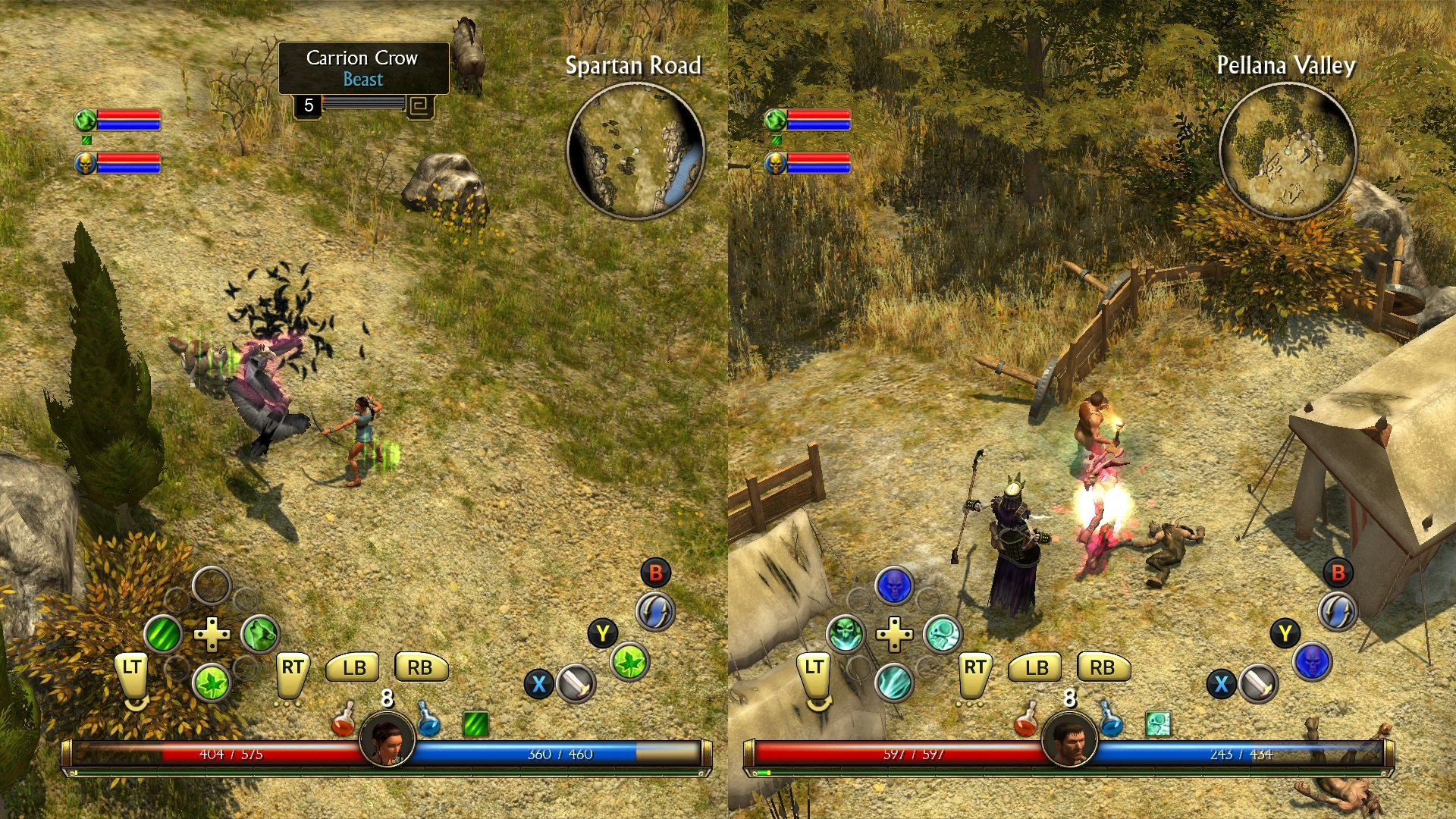 Couch Co-Op Now Available for Titan Quest