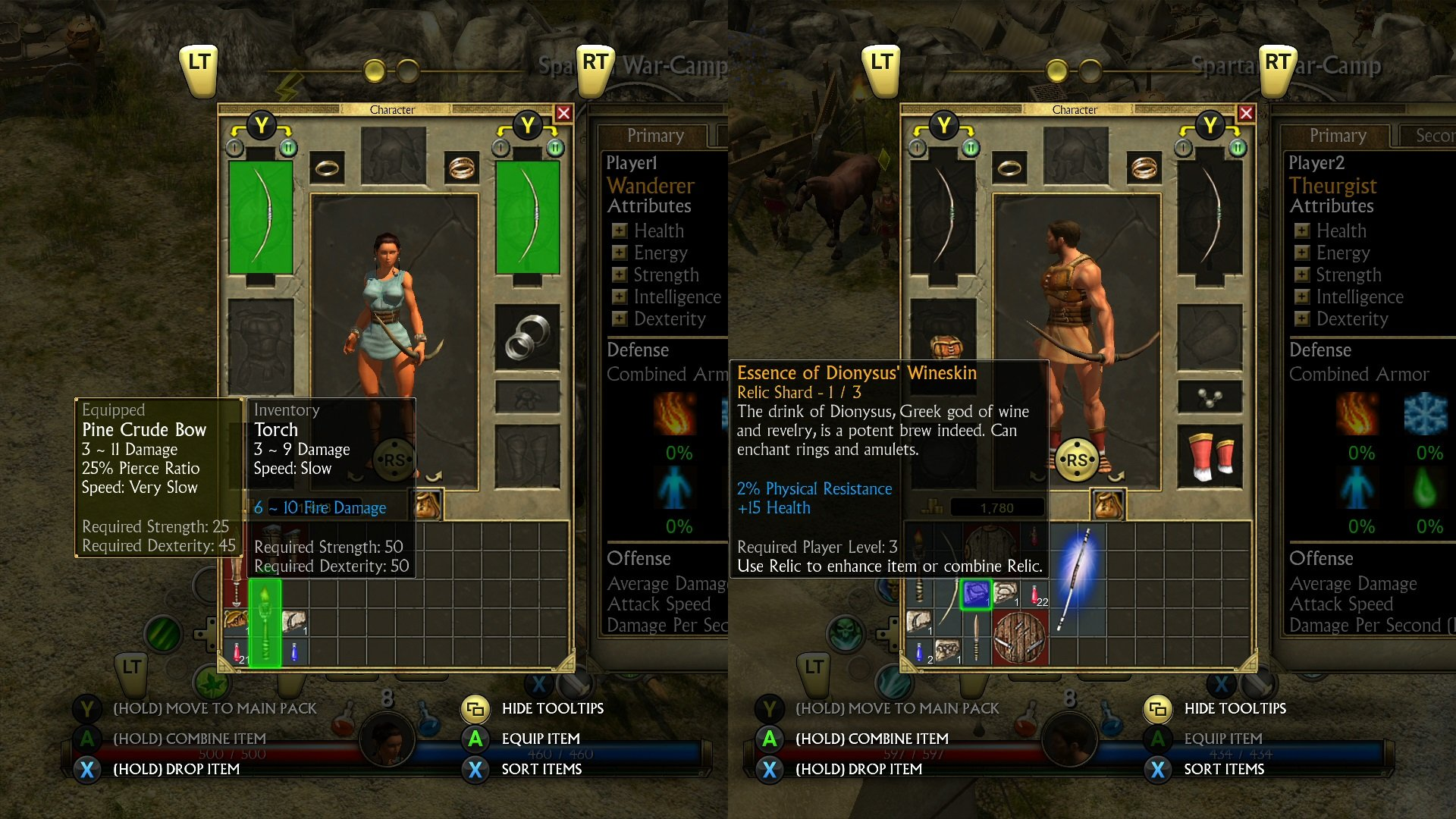 Couch Co Op Now Available For Titan Quest