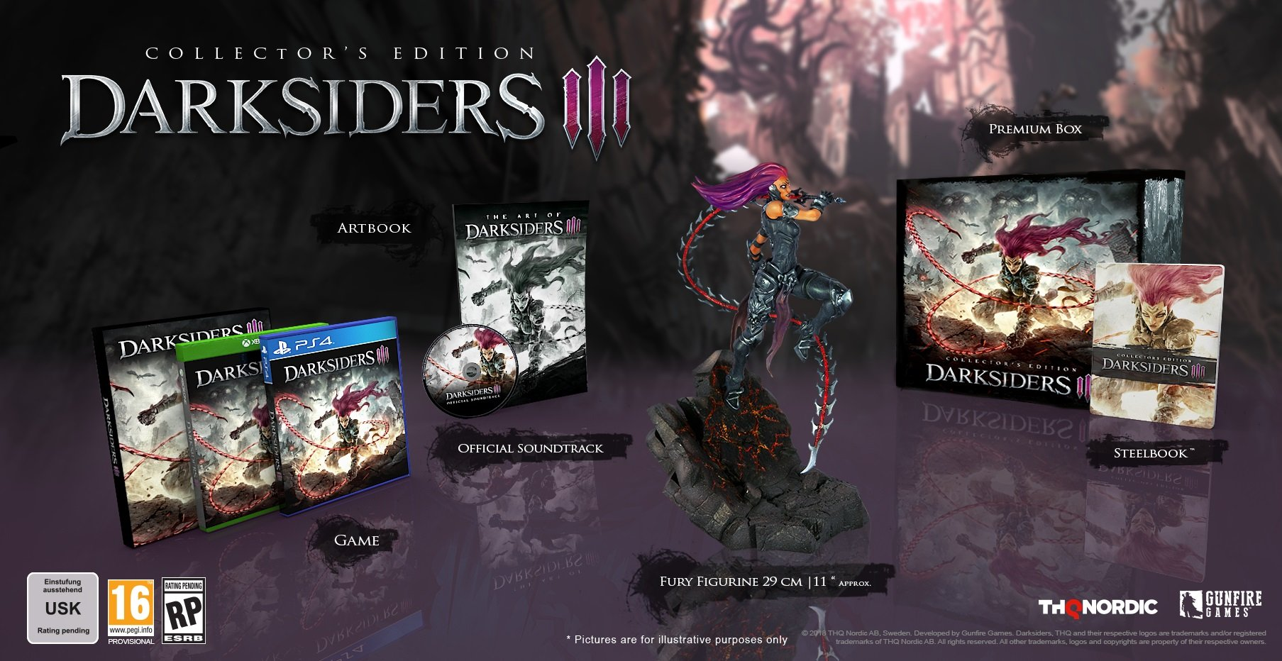 Darksiders ii collector's edition unboxing video esperino.