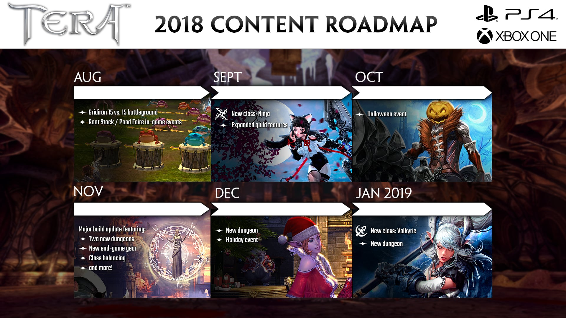 tera roadmap reveals what s in store for the rest of the year