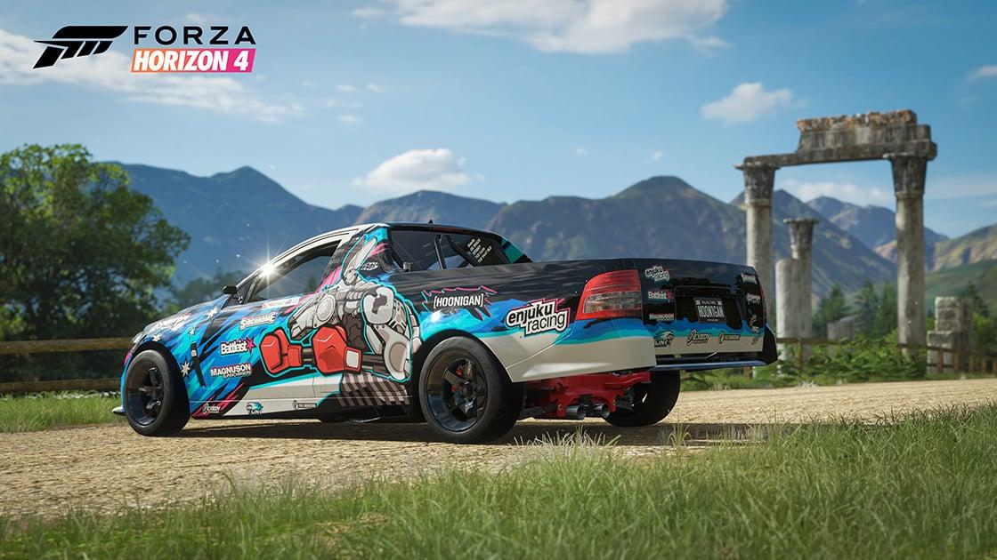 Forza Showcases The Formula Drift Car Pack