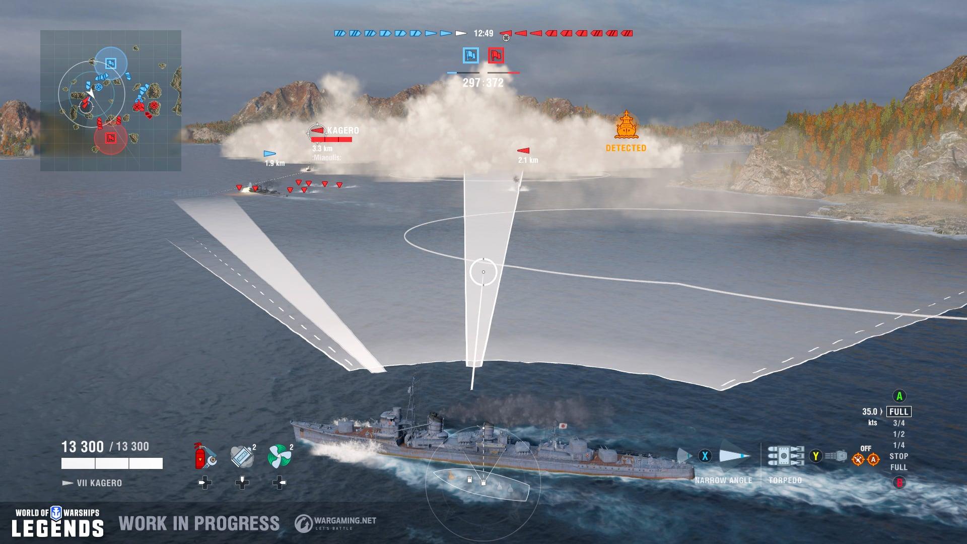 Image result for World of Warships: Legends trailer