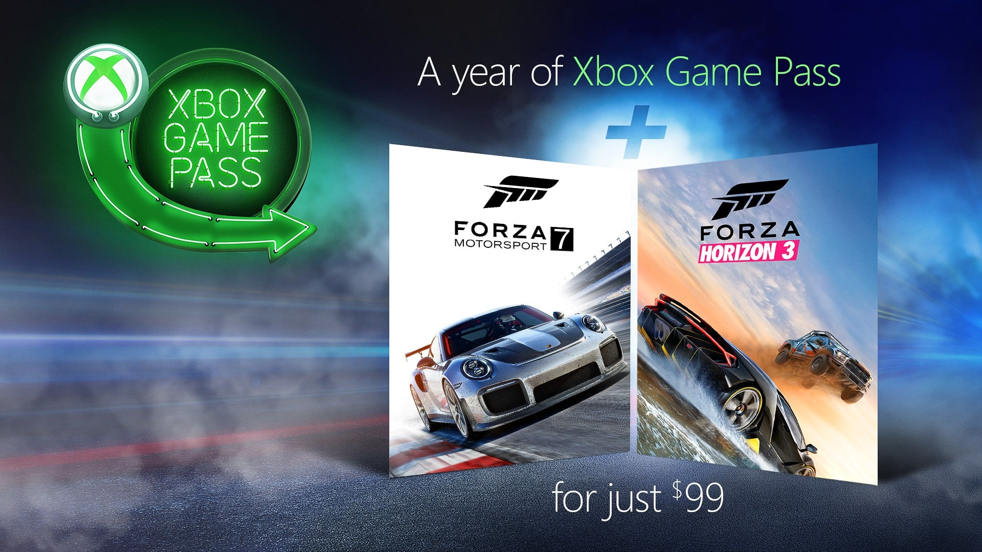 Forza Xbox Game Pass deal