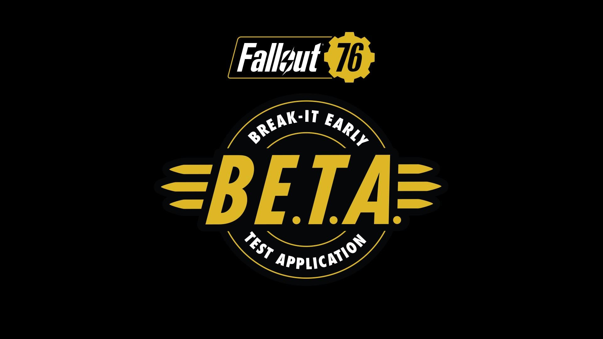 fallout 76 beta end date