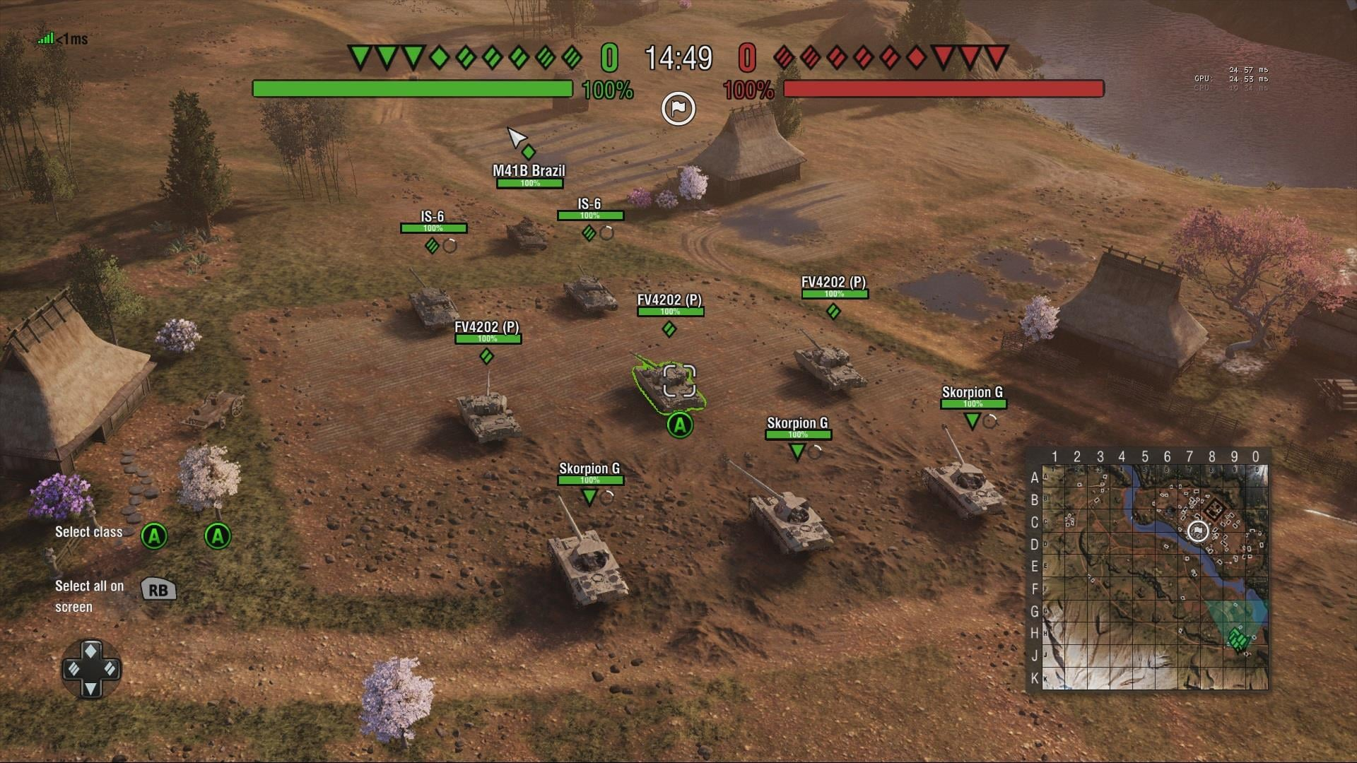 Commander Mode Brings Strategy To World Of Tanks Mercenaries