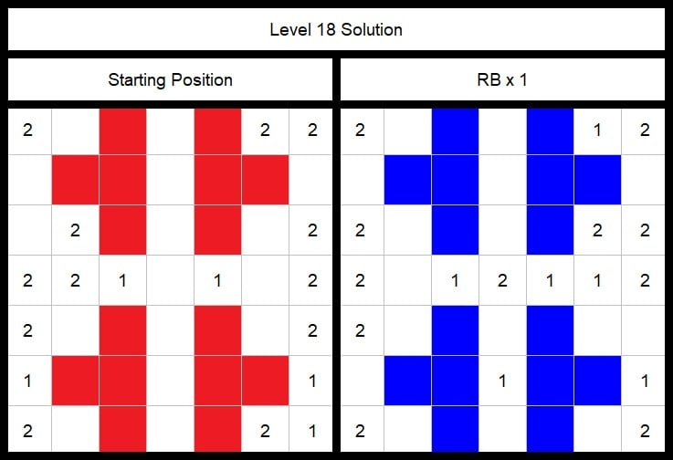 Level 18 Solution