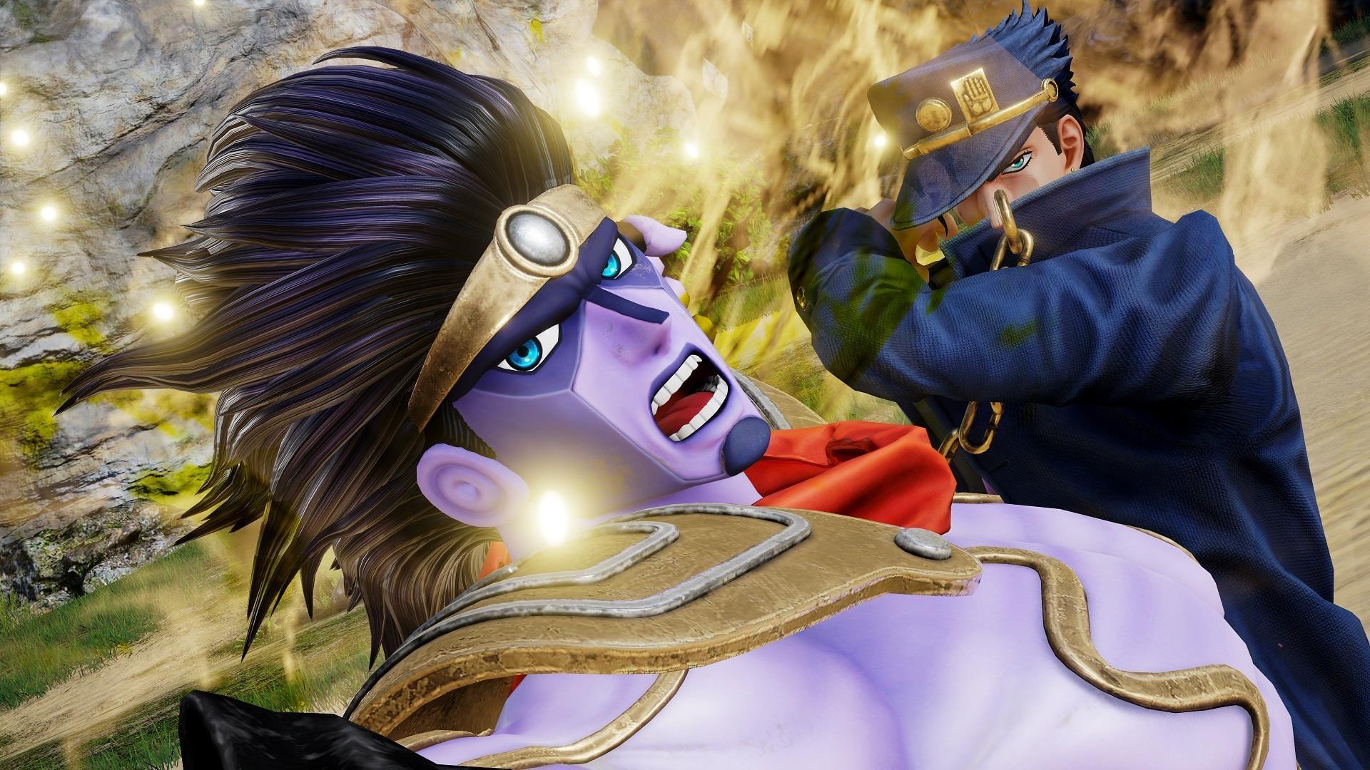 Jump Force Adds Jotaro And Dio From Jojo S Bizarre Adventure