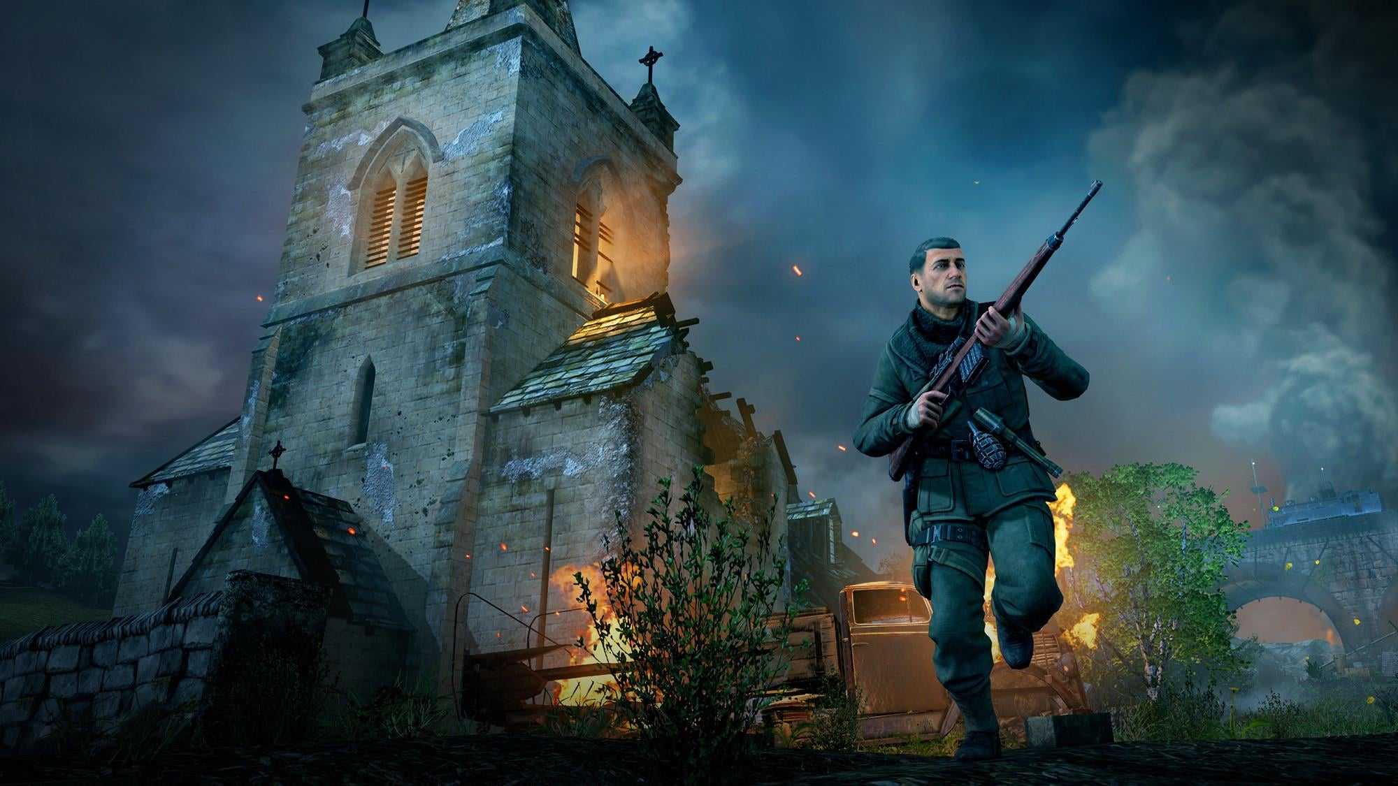 Trying To Snipe With Hdr Graphics: Sniper Elite V2 Remastered And New Title Announced