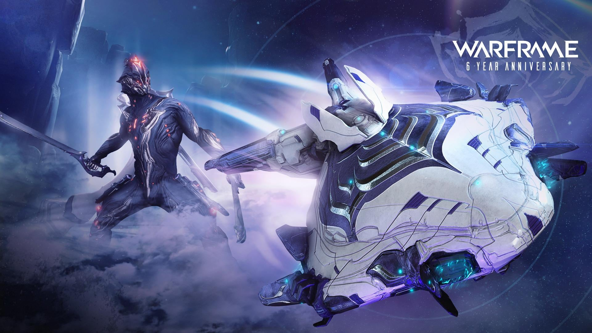 Warframe Offers A Free Anniversary Gift Today