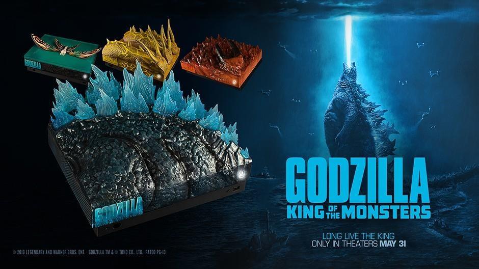 Godzilla consoles