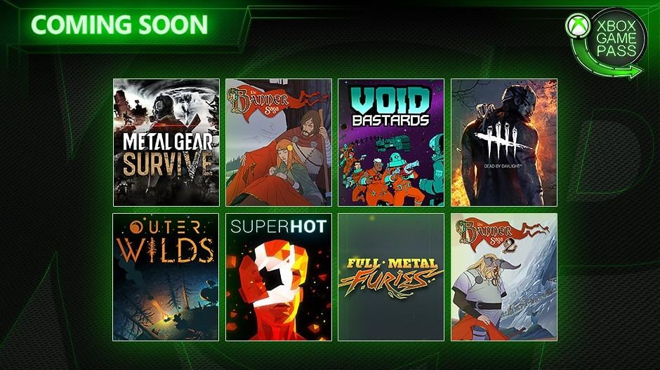 Eight Titles Coming to Xbox Game Pass in the Next Two Weeks