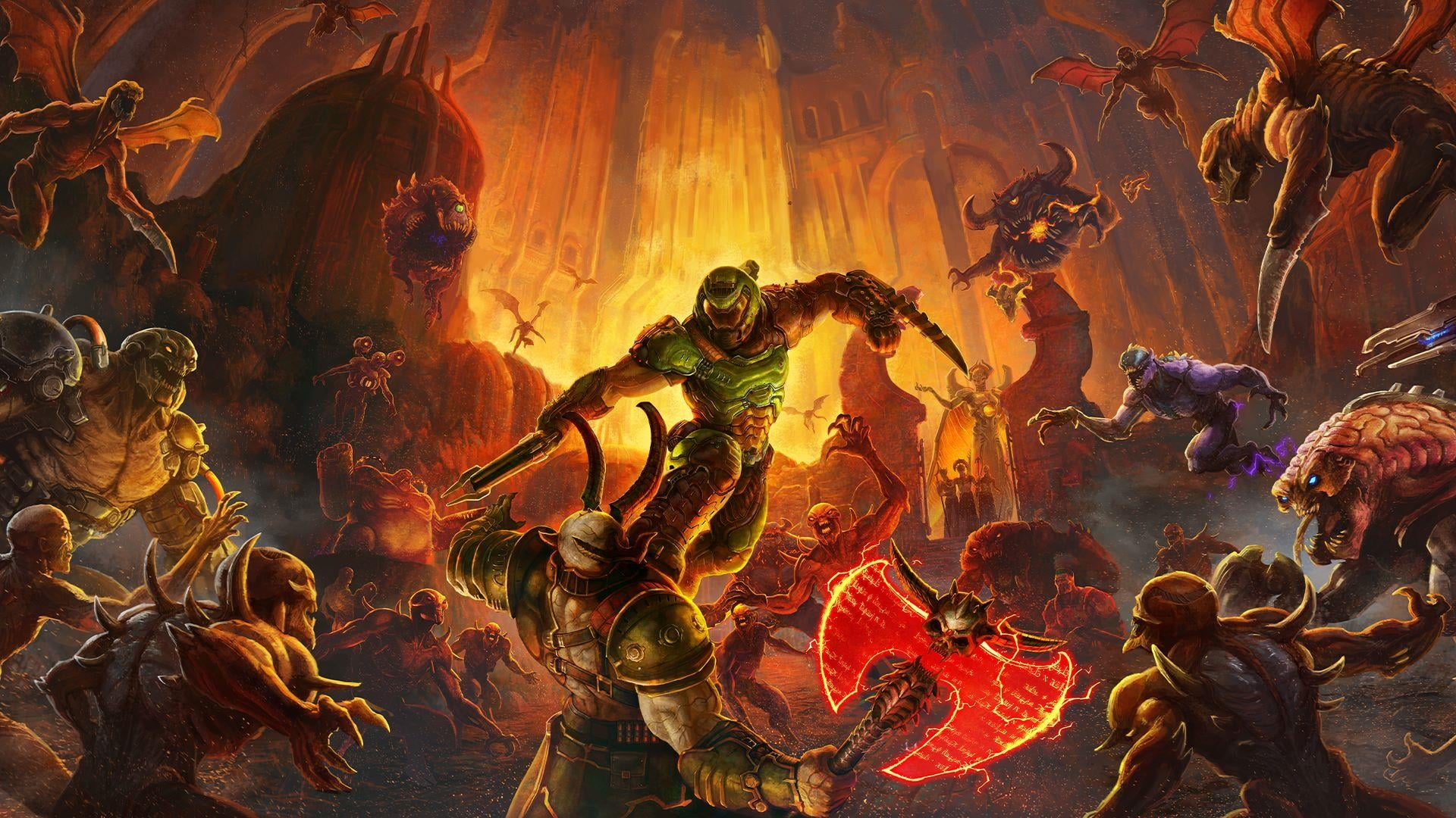 Doom Eternal S Game Director Says The Demons Will Really Force Players To Move In Combat