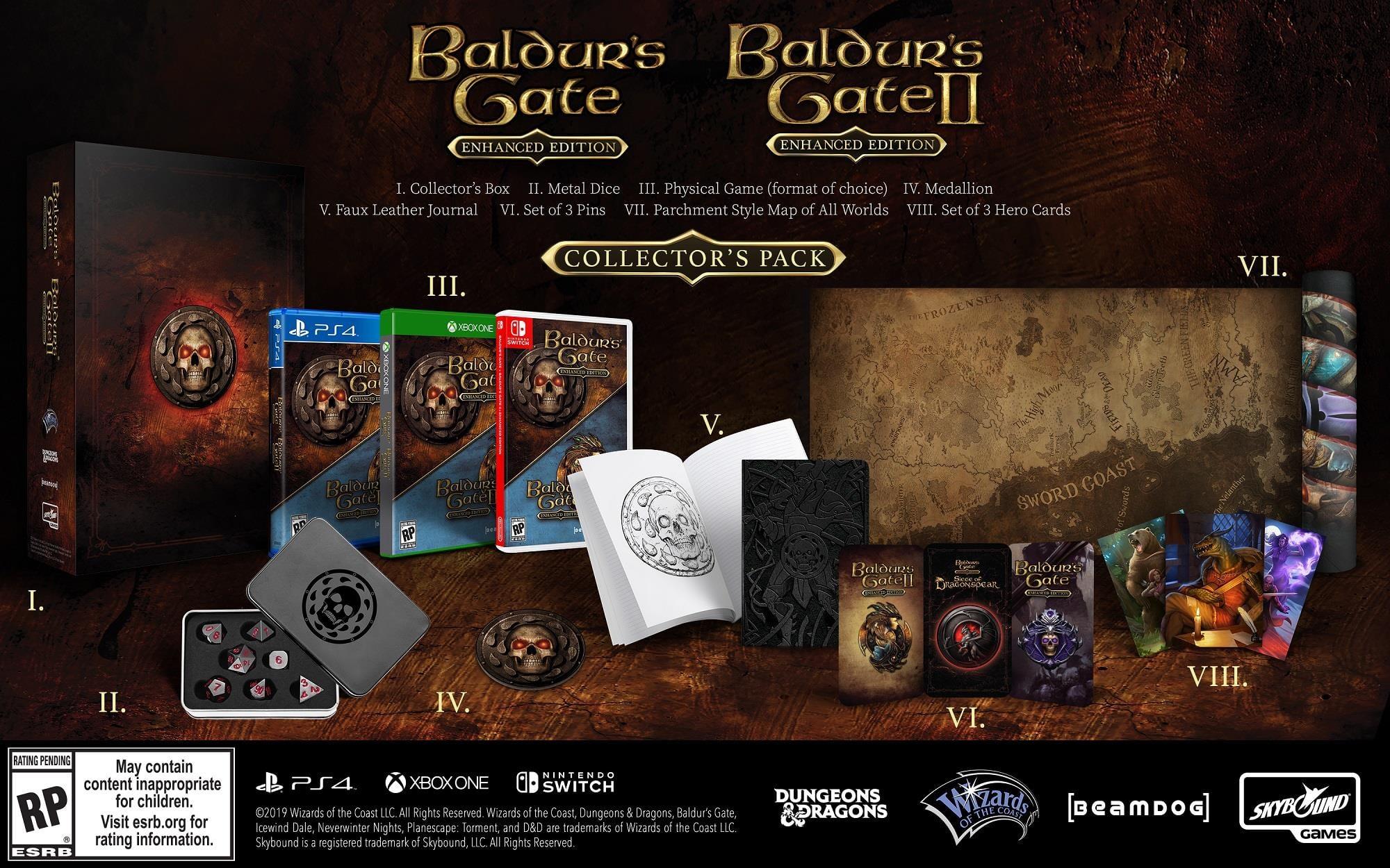 Presentadas las ediciones coleccionistas de los packs de clásicos RPG de Dungeons & Dragons