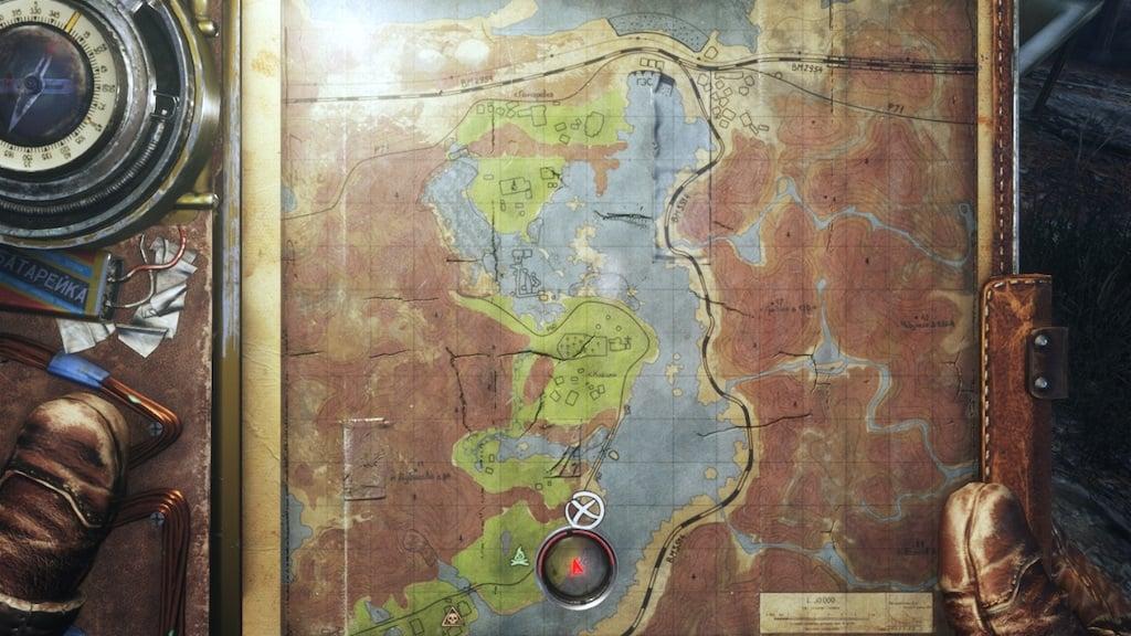 the taiga metro exodus