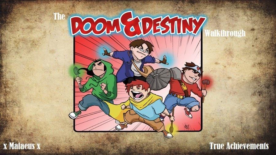 Doom & Destiny Walkthrough - Page 1