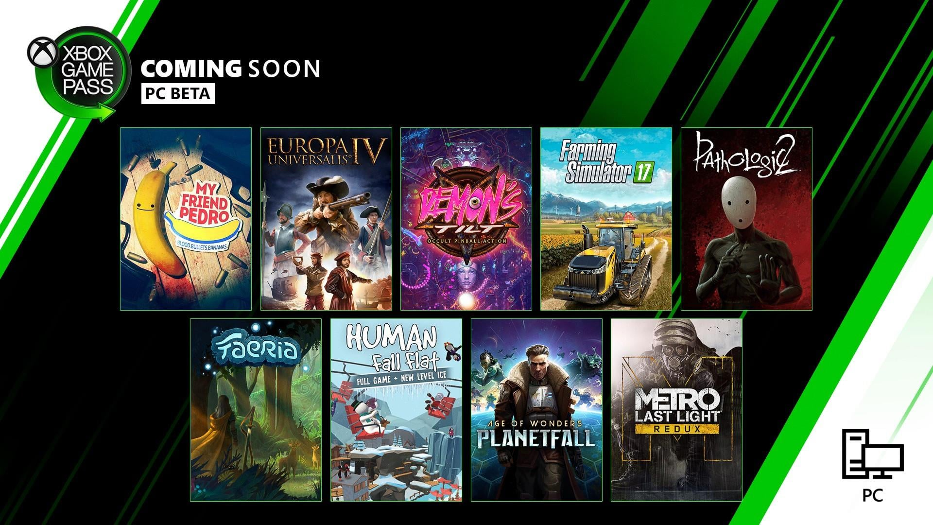 Xbox Game Pass for PC Games Coming Soon: My Friend Pedro, Human Fall Flat  and More
