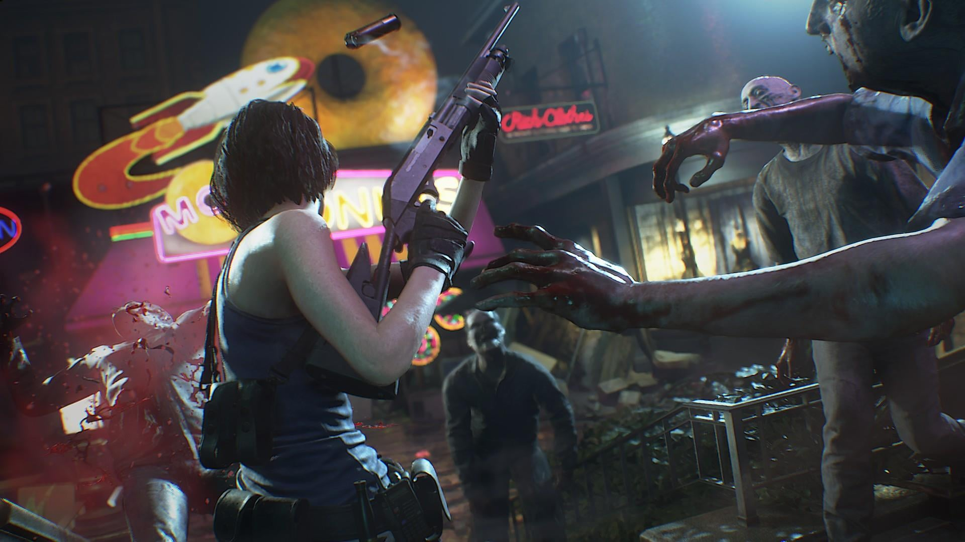 Resident Evil 3 S Hefty File Size Might Be Split Into Two