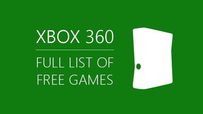 Free Xbox 360 Games