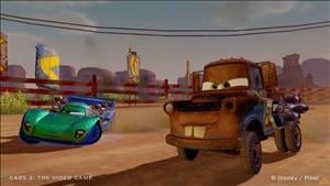 New Screenshots For Cars 2 The Video Game