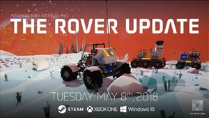 Astroneer's Rover Update Improves Vehicle Functionality