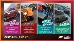 Forza Horizon 4 Series 8 Update Brings Changes for Online Adventure