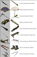 DW8E Weapon Summary