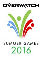 Overwatch's Summer Games logo