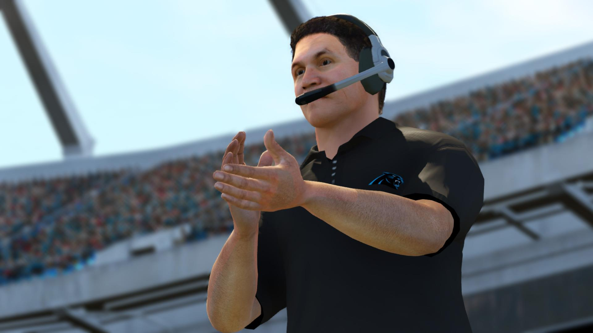 Ron Rivera Legacy Award in Madden NFL 25