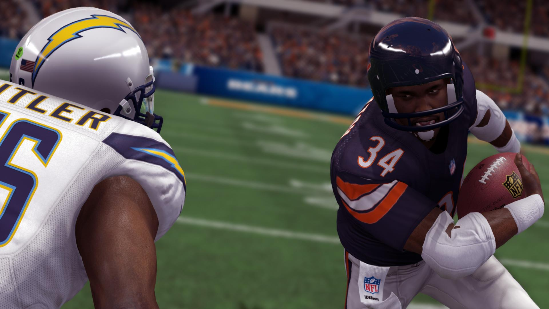 Walter Payton Legacy Award in Madden NFL 25