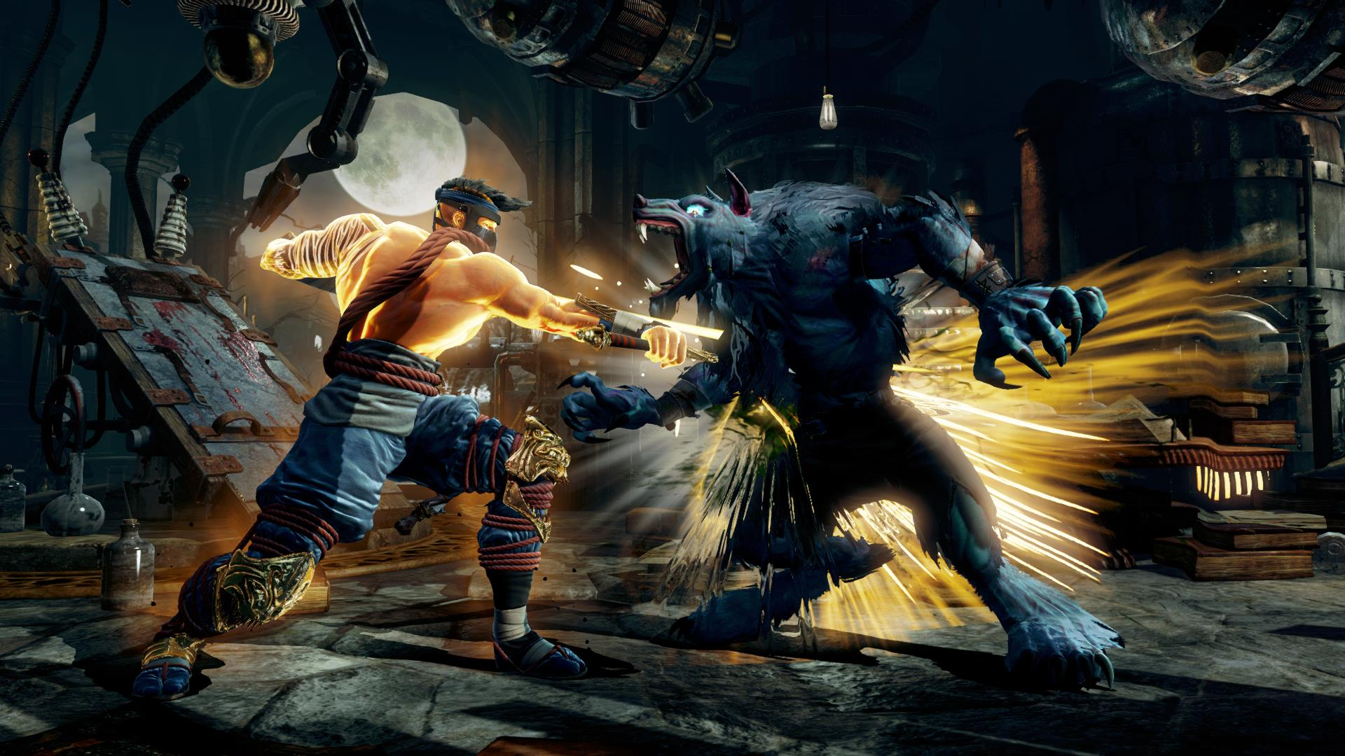 Sparring Jago in Killer Instinct