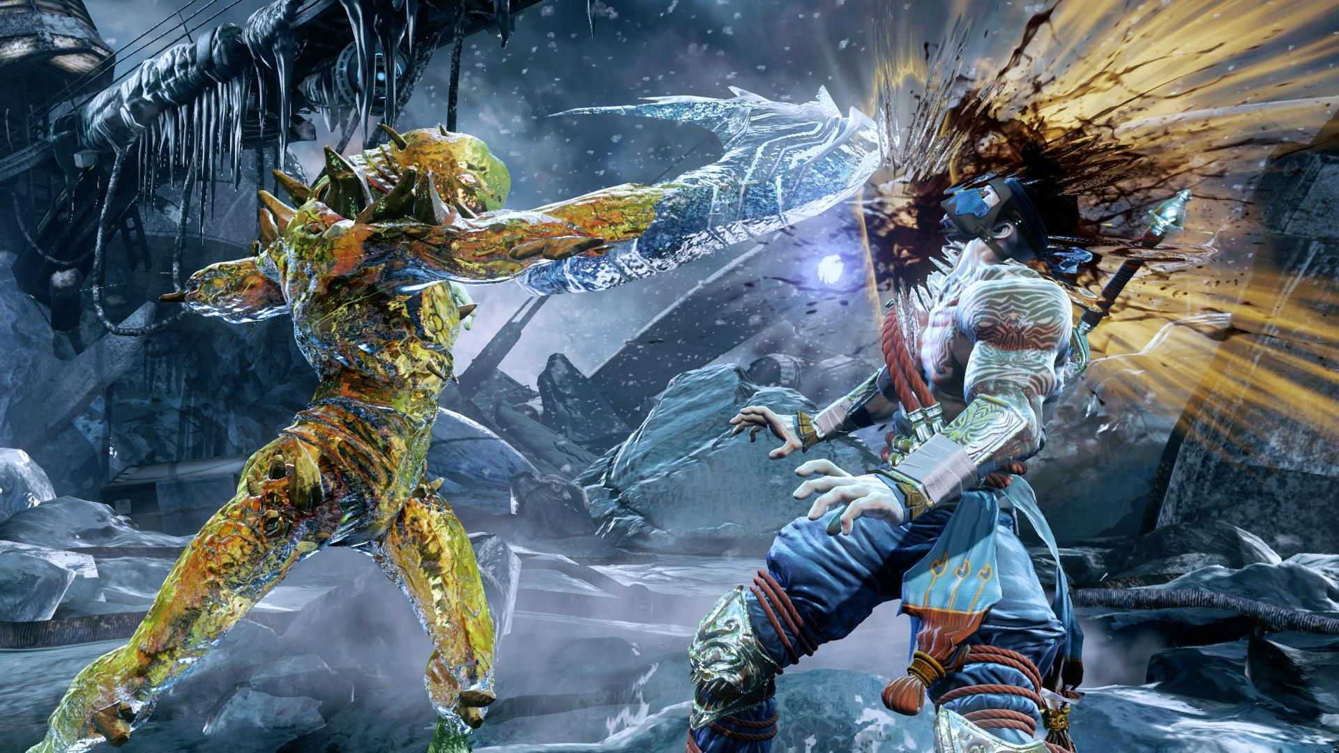 Stylish Glacius in Killer Instinct